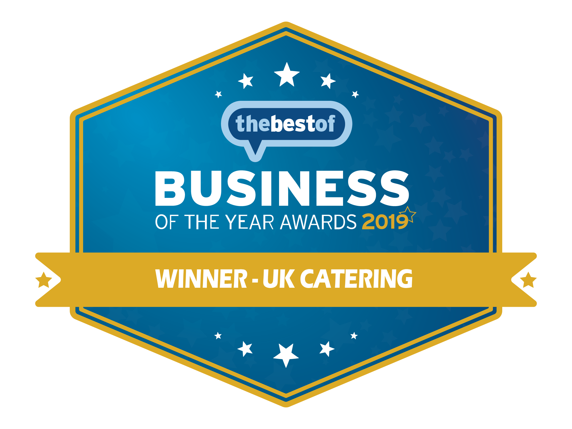 Winner in category for catering business awards