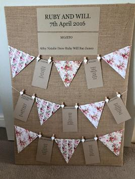 Table plan hire st neots
